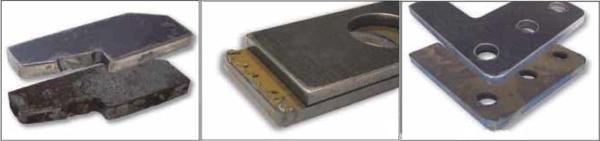 A Costa MD CTV 1350 típussal hatékonyan eltávolítható a lángvágás után visszamaradt salak