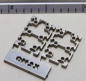 MicroMAX mintamegmunkálás