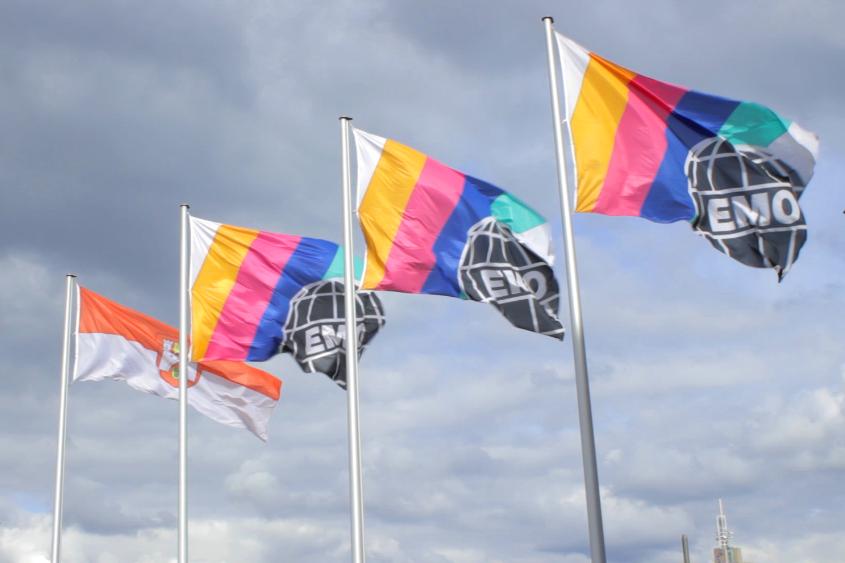 EMO Hannover 2013 - zászlók