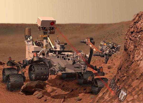 Curiosity Mars Szonda – a tervezéséhez NX, a mérnöki adatok kezeléséhez Teamcenter rendszert használtak