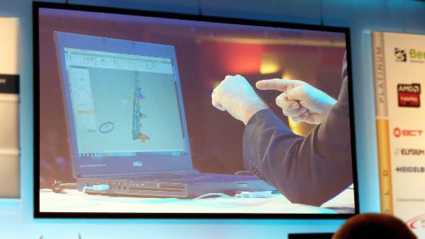 A Leap Motion technológia segítségével érintés nélkül, kézmozdulatokkal vezérelhető az NX 9