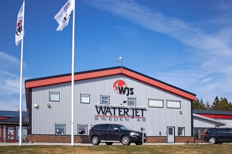 A Water Jet Sweden központja Ronneby-ben