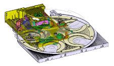 DVD-F85 mechanizmusának kinematikai szimulációja TopSolid segítségével