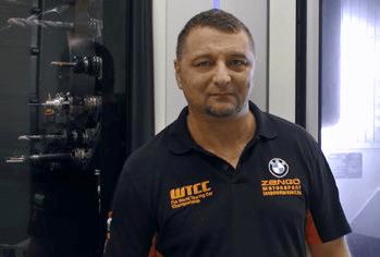 Takács András, a T-NC Kft. ügyvezetője