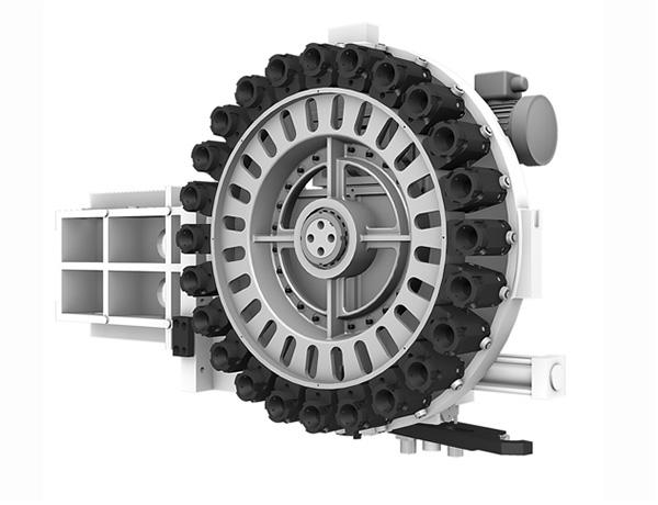 30 férőhelyes automata szerszámcserélő