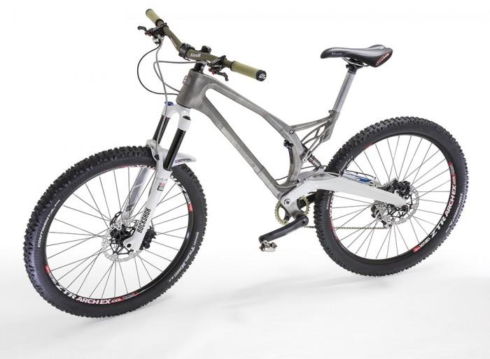 A világ első 3D nyomtatott titán vázas kerékpárja