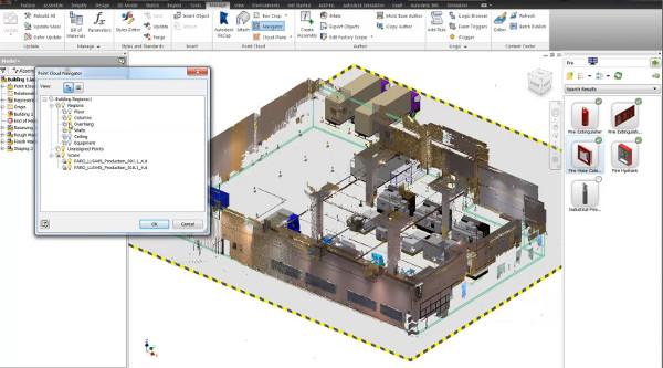Az Autodesk ReCap segítségével könnyebben elérhetők a pontfelhők