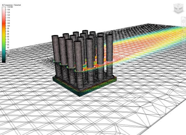 Az új hőelvezetési modellben rendszerszinten elemezhetők ezek a komplex összeállítások, és pontosan előre jelezhető a lapkák hőmérséklete