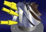 A DELMIA Extended Milling Machining számos 5-tengelyes művelet esetében támogatja a szabad formájú kontúrok és felületek megmunkálását, például alakmarás, spirális megmunkálás, cső- és izoparametrikus megmunkálás.