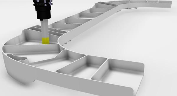 A DELMIA Extended Milling Machining a többtengelyes megmunkálási műveletek teljes skálájával, így többszörös zsebmarási funkciókkal teszi lehetővé a pontos és gyors szerszámpálya-meghatározást.