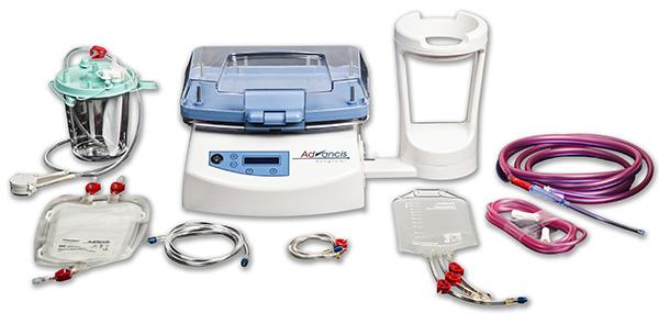 A Brightwake forradalmi Hemosep vér-újrahasznosító készüléke