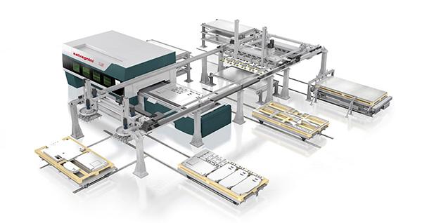 A Salvagnini L3 automatizálási megoldások széles körével bővíthető