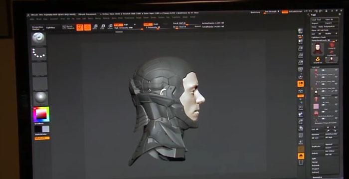 3D Robotzsaru modell
