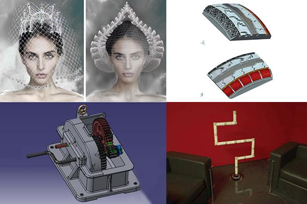 A What-to-print-in-3D? pályázat nyerteseinek munkái