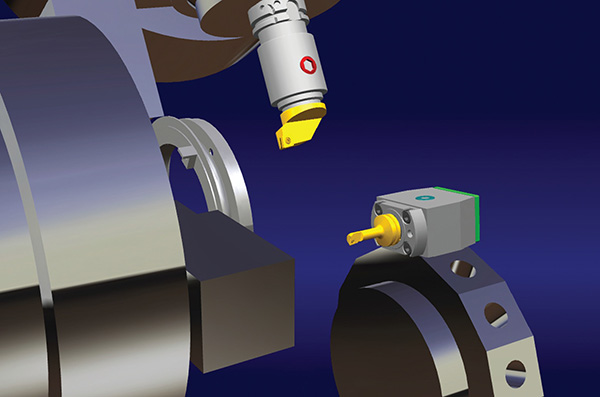 A DELMIA Turning Machining az esztergáló műveletek széles skáláját kínálja