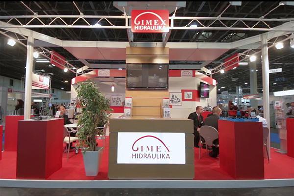 GIMEX Hidraulika az Ipar Napjai kiállításon