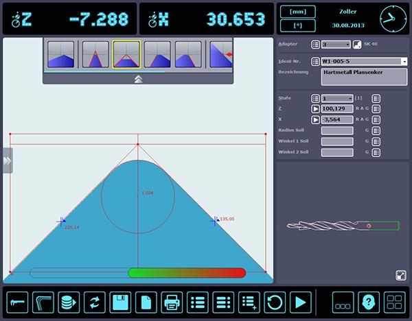 A »pilot 2mT« a szerszámbemérési- és beállítási technika jövőjét jelenti