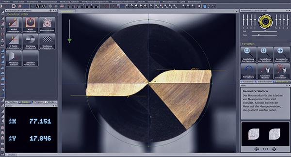 A »pomBasic« a fúró- és maróberendezések, süllyesztők folyamatközeli mérését és ellenőrzését emeli új szintre