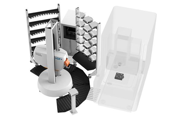 Egy gép kiszolgálása System 3R TRANSFORMER segítségével