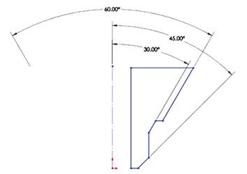 Szimmetrikus szögméretezés