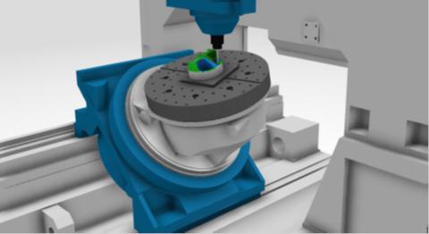 Szimuláció közben megjeleníthetők a tengelyek mozgásának határai, mely előre jelzi a kiválasztott gép alkalmasságát a program futtatására.