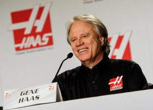 Gene Haas, Haas chairman in F1 conference
