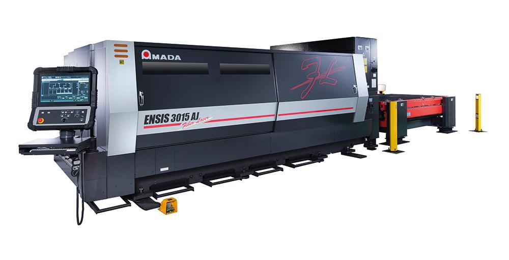 A díjnyertes Amada Ensis fiberlézergép