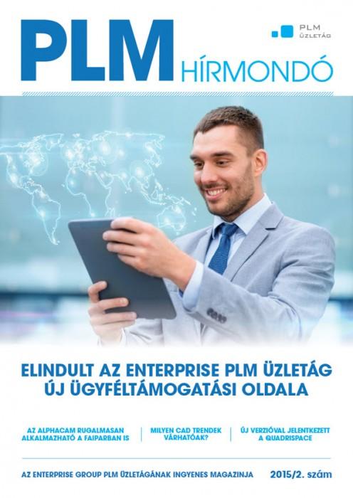 PLM Hírmondó borító 2015 02.