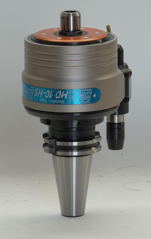 MO10 HS gyorsító fej, 8-szoros áttétel, akár 35.000 1/perces fordulatig