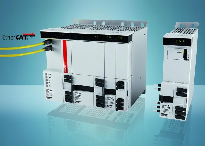 A moduláris AX8000 többtengelyes szervorendszer a vezérlés sebességével és pontosságával szemben támasztott legszigorúbb követelményeknek is megfelel, ráadásul, a kapcsolószekrény terének optimális kihasználását is lehetővé teszi.