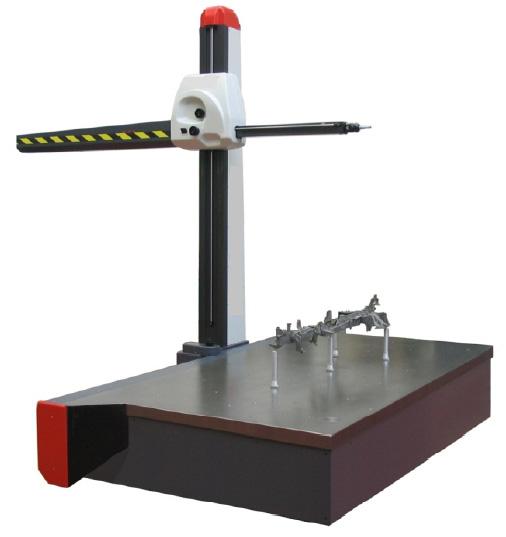 Mozgó keretes mérőgép (gyakran horizont mérőgépnek is hívják)