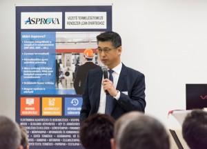 Keiji Fuji Úr, az Asprova európai és amerikai igazgatója