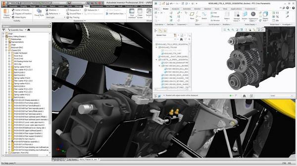 Zökkenőmentesen emelhet be adatokat gyakorlatilag bármilyen CAD rendszerből asszociatív módon.