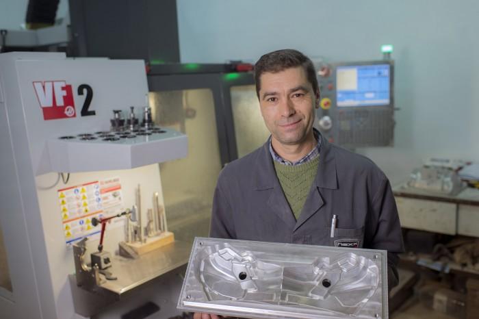 A Nexx a Haas VF-2 szerszámgépet használja az alumínium és acél formák gyártására, valamint a funkcionális prototípusok elkészítésére is.