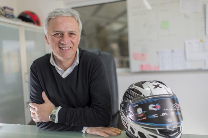 Helder Loureiro, a Nexx Helmets alapítója és igazgatója