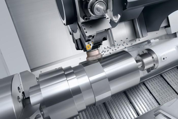 Az NLX 6000|2000 bármilyen, nagy átmérőjű, hosszú munkadarab nagy teljesítményű megmunkálási feladatára kiválóan alkalmas, a 2-tengelyes esztergálástól egészen a 6-tengelyes teljes megmunkálásig.