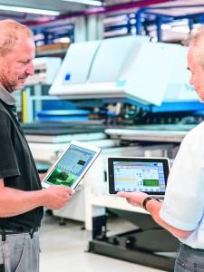 A termelési folyamatok digitalizálásával növelhető a termelékenység, a rugalmasság és folyamatok stabilitása, valamint vállalat-szintű értékhálózatok hozhatók létre.
