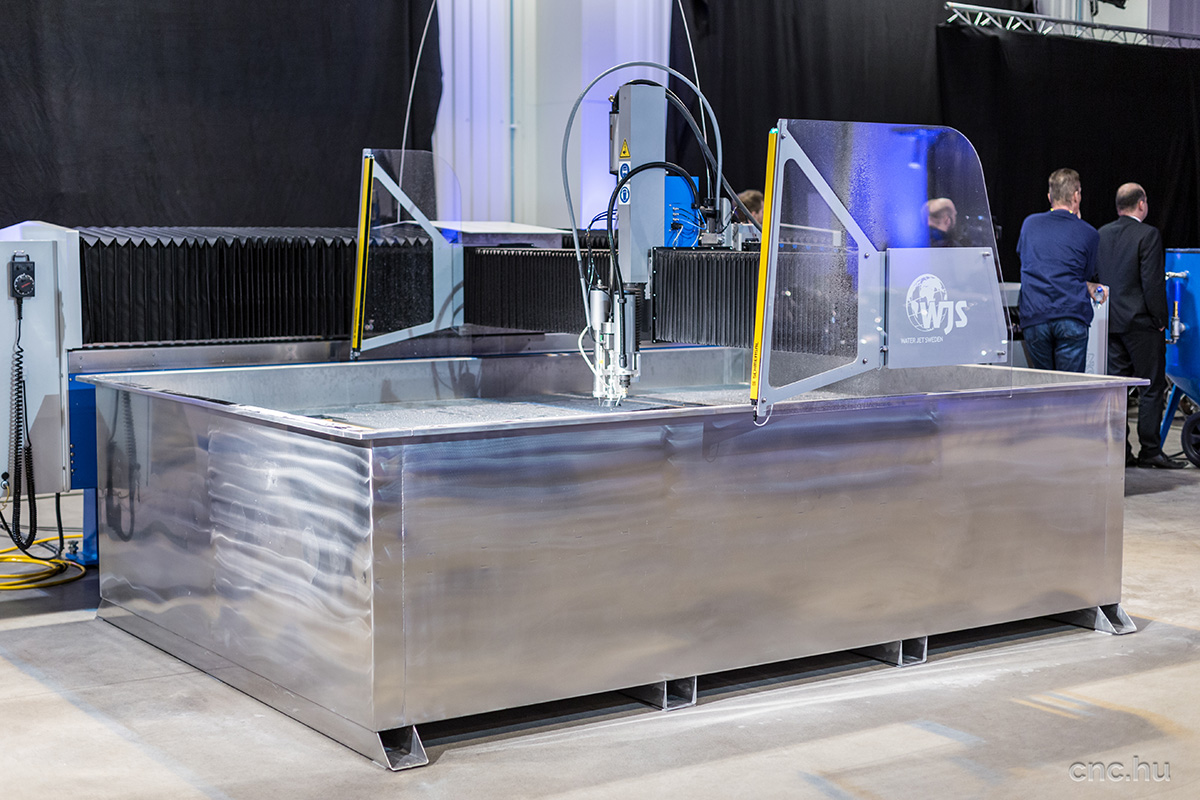 Water Jet Sweden launches a new product range | Machining News