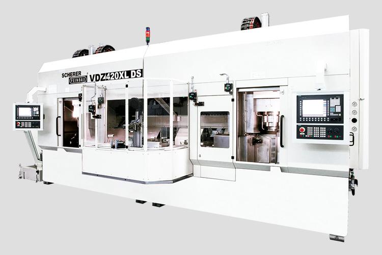 VDZ420DS kétorsós függőleges CNC eszterga