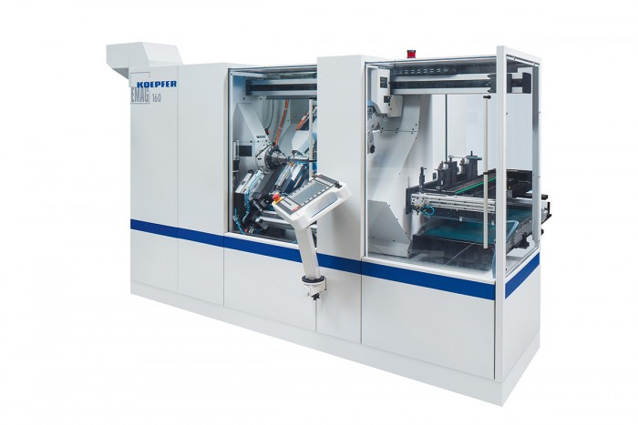 The dynamic axes of the KOEPFER gear hobbing machine, type 160, are perfectly synchronized for non-circular machining. This is achieved with new machine software.