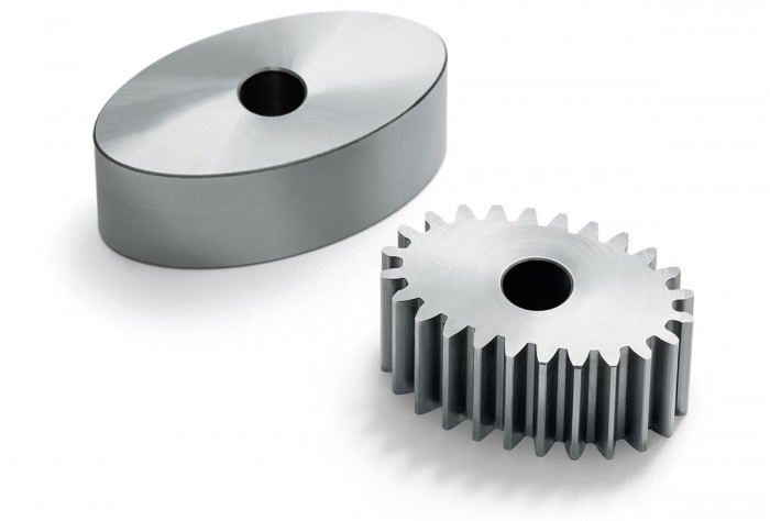 The quality of the finished gearing is comparable to that of standard circular gears. Even particularly complex shapes can be machined.