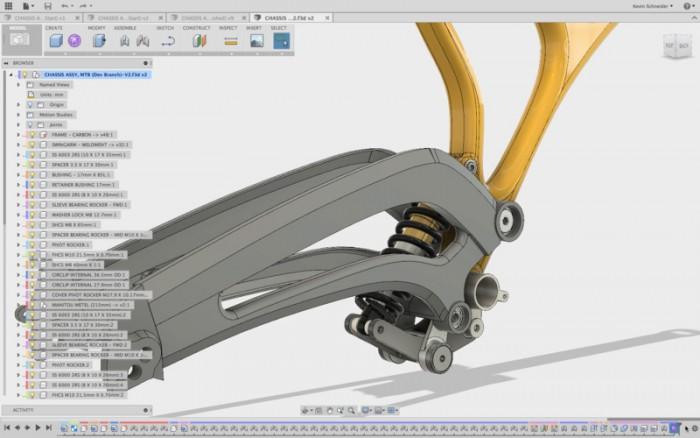 Összeállítás-modellezés a Fusion 360 programban