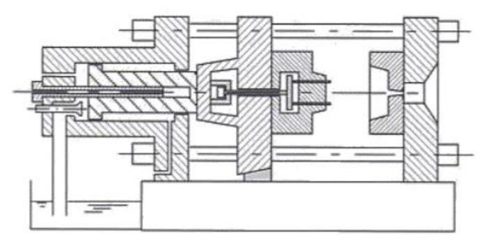 3. ábra: Hidraulikus záróegység rajza
