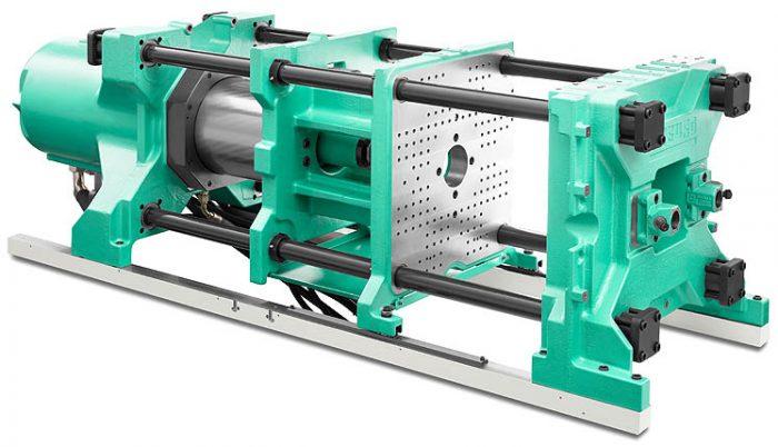 4. ábra: Az Arburg által alkalmazott hidraulikus szerkezet