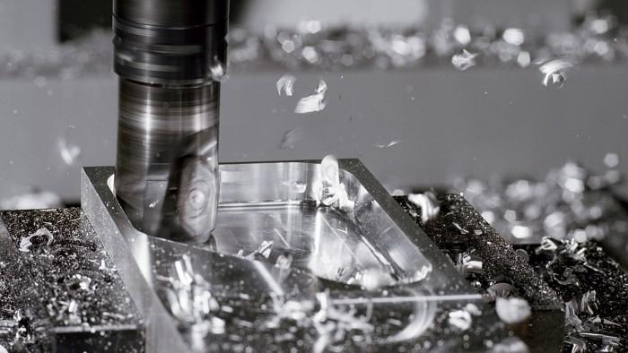 1. ábra: Alumínium marása