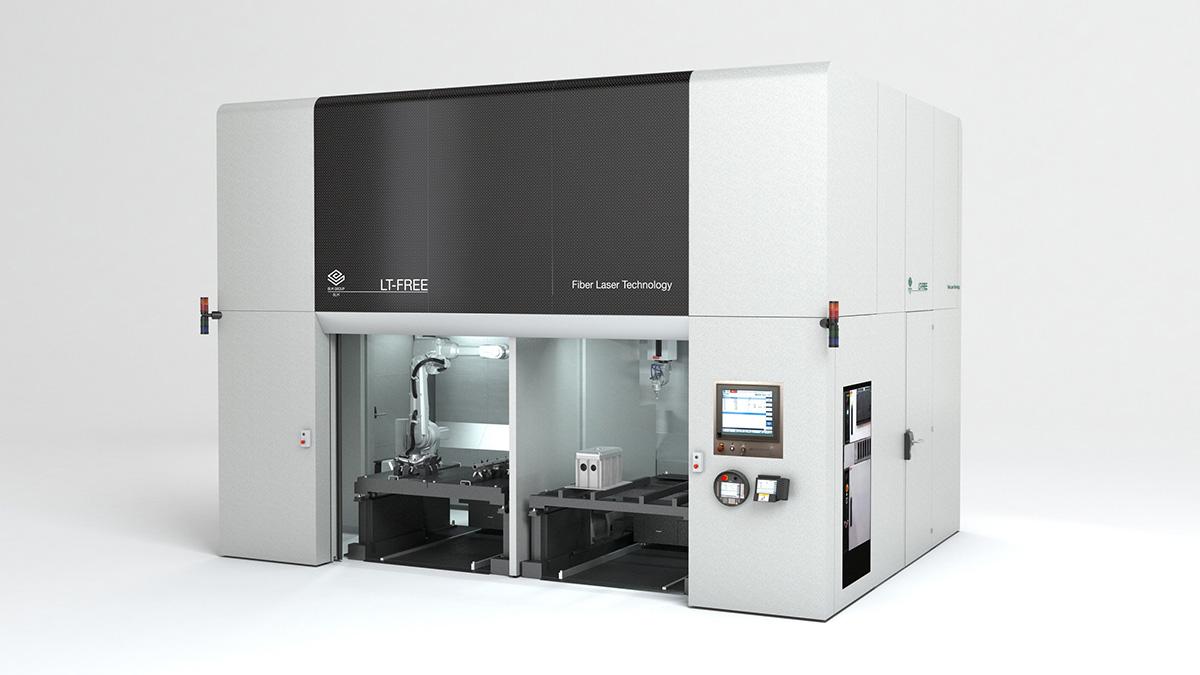 b3f111bab093 LT-FREE 5-tengelyes lézervágó rendszer 3D-s alkatrészekhez   CNC