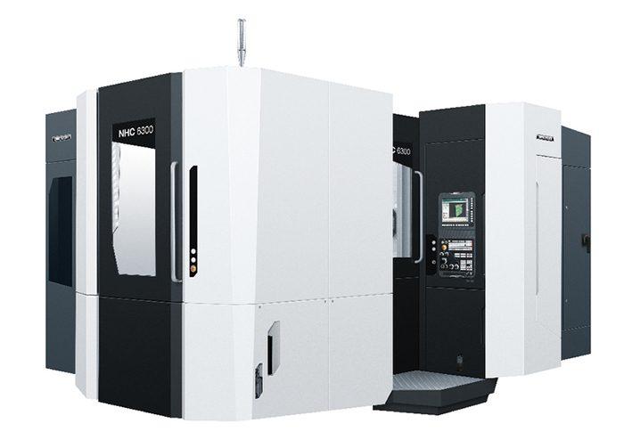 Az NHX termékcsalád alapján a DMG MORI a kínai piachoz igazította az NHC 6300 gépet.