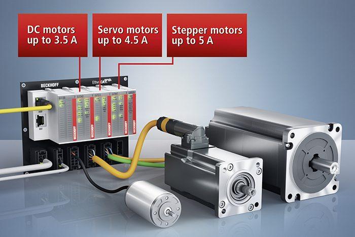 A mozgásvezérlésre szolgáló, új EtherCAT plug-in modulok révén tovább bővül a Beckhoff EJ-sorozatú be-/kimeneti moduljainak alkalmazási köre a sorozatgyártásban.