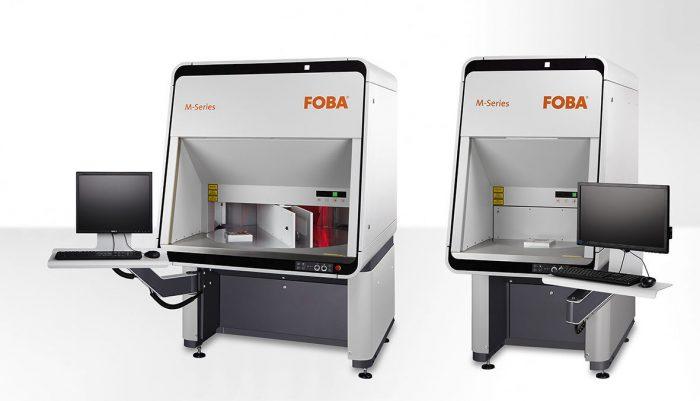 A FOBA M3000 és M2000 lézeres jelölő munkaállomások forgóasztalai, © FOBA Laser Marking + Engraving (ALLTEC GmbH)