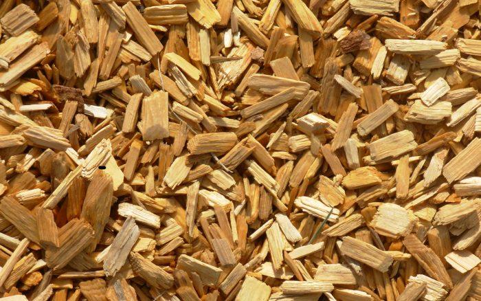 Összezúzott fa, a Kraft-eljárás kiinduló alapanyaga